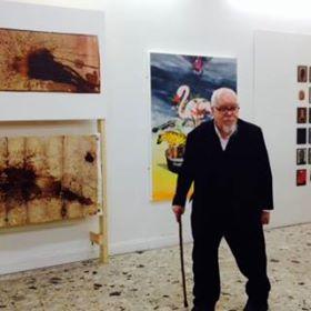 Peter Blake visiting Beep 2014